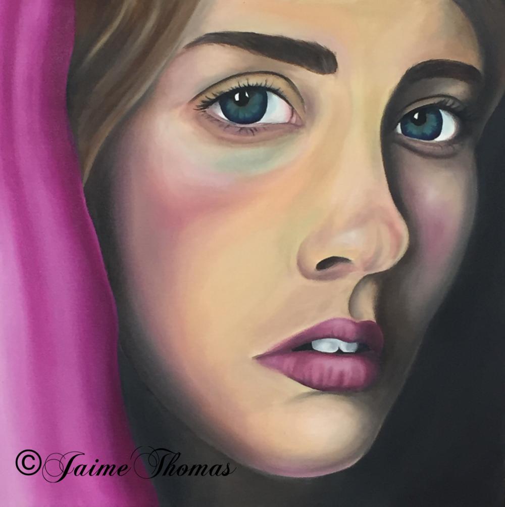 Jaime Thomas Self Portrait -