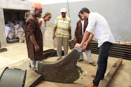 - WE USE THE SAME PROCESS TO MAKE THE PLANKS, POLES AND TILES NEEDED TO MAKE OUR DHOW BOAT