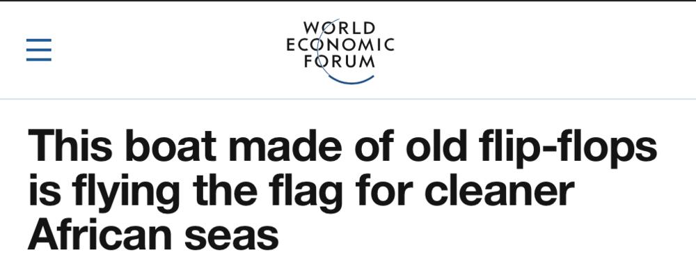 World Economic Forum,  February 2019