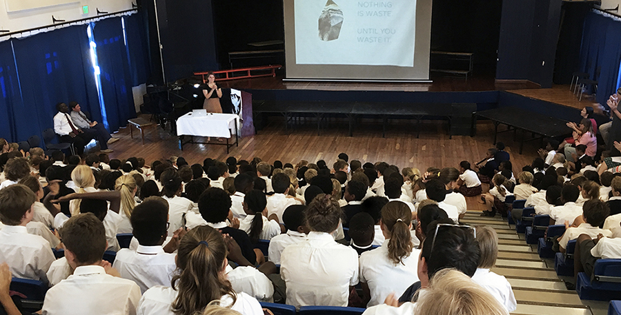 Talks & presentations - at international Conferences (Royal Geographic Society/ Volvo Ocean Race) and schools in Africa & Europe