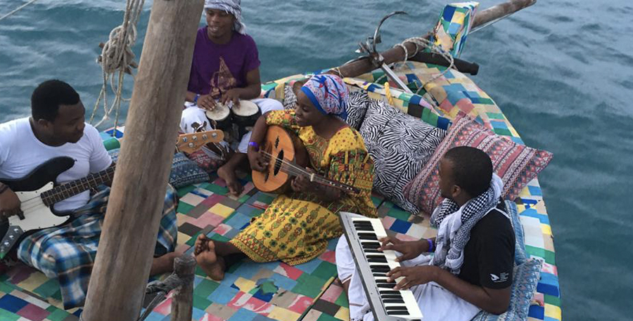 Collaborations with musicians - to educate at a grassroots level (e.g. Conservation Music, Sauti Za Busara festival, Muthoni Drummer Queen)