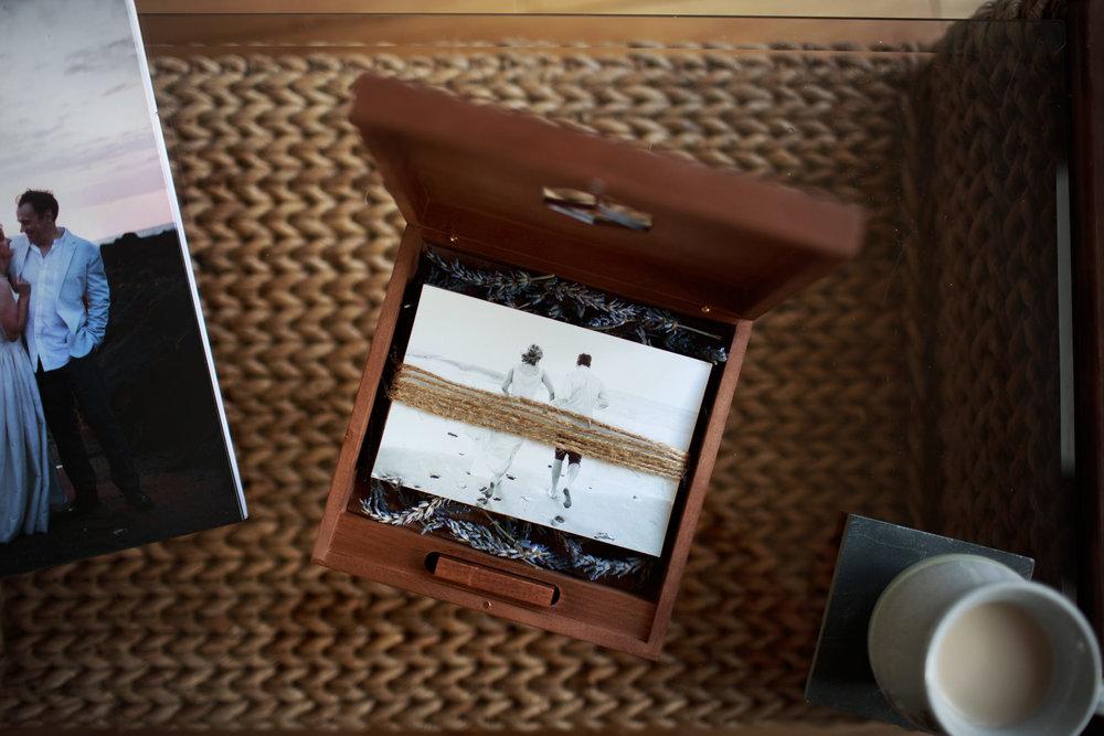 USB & Print gift box -
