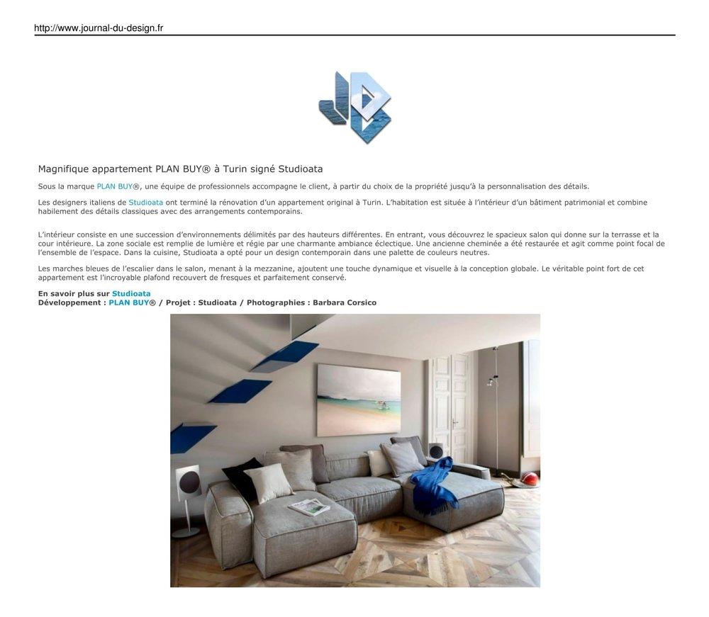 JOURNAL DU DESIGN - France  - Le site du design, de l'architecture, de l'art,duhigh-tech, de la mode et des tendances urbaines.