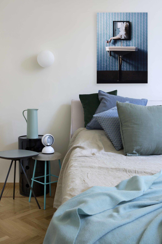 camera da letto dettaglio