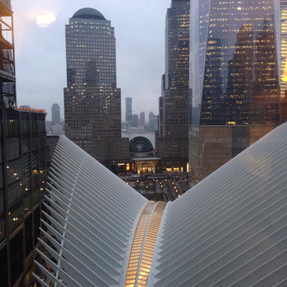 new WTC transit hub march 2016