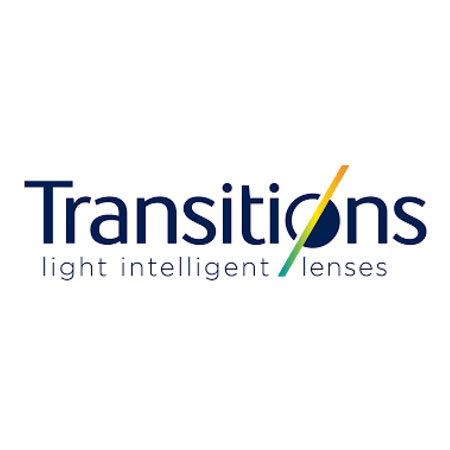 Transitions ® - Light Intelligent Lenses™ that protect your eyes from harmful UV rays and blue light, both indoors and out.