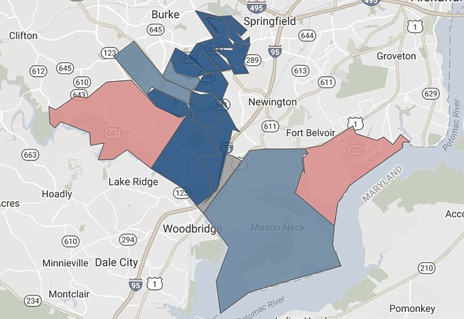 Republican Lolita-Mancheno Smoak won only two precincts, one of which was the home precinct of Ed Gillespie. Democrat Kathy Tran ran up huge numbers in the rest of the district, especially in the Orange Precinct and the Silverbrook Precinct. Virginia Public Access Project