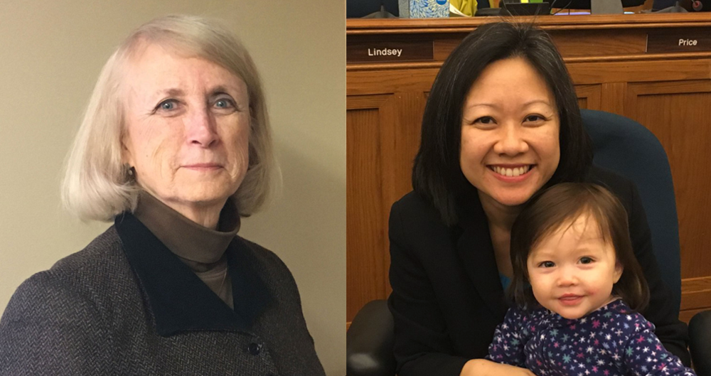 Virginia Delegates Vivian Watts (left) and Kathy Tran (right).PHOTOS BY PATRICK MADDEN
