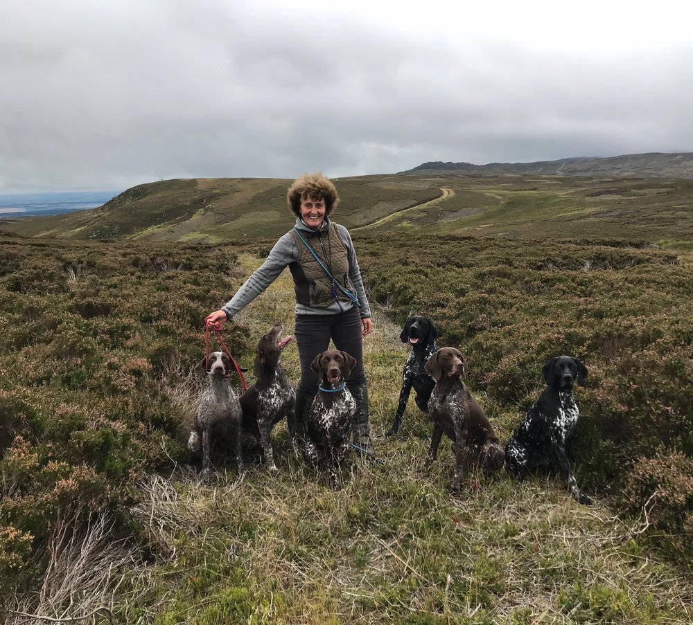 How lucky we are to share training with great friends, wonderful dogs and beautiful Scotland !