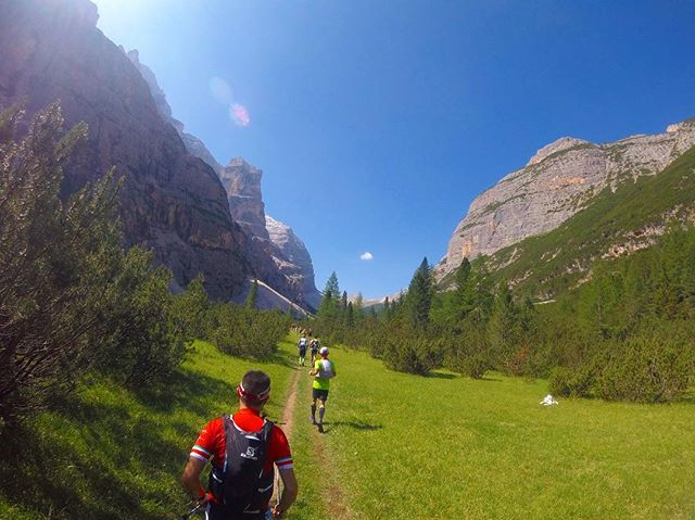 Excursion to the Dolomites. Running the Cortina Trail!