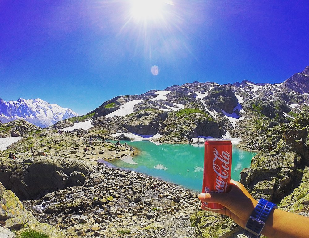 a coke with a view
