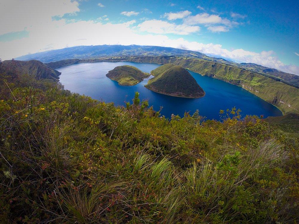 The Guinea Pig Lagoon - Cuicocha