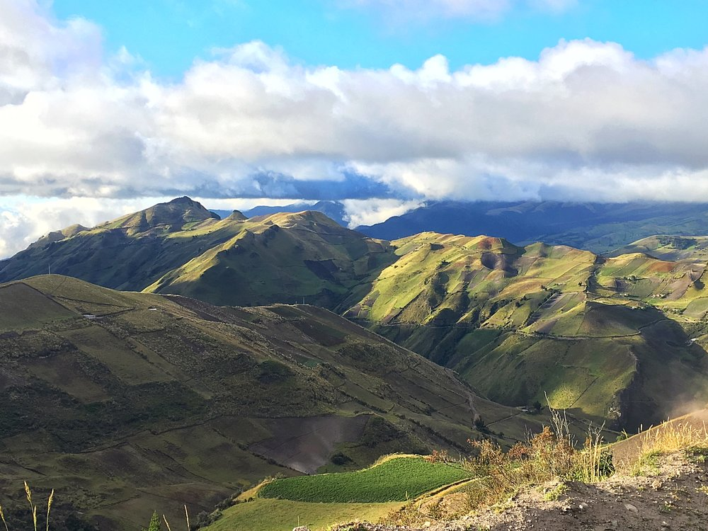 ohhh Ecuador and its green lands
