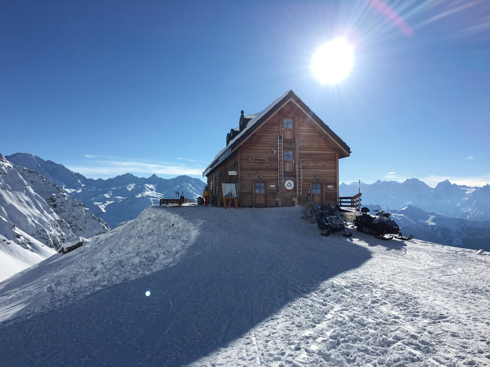 Cabane Mont Fort, Switzerland