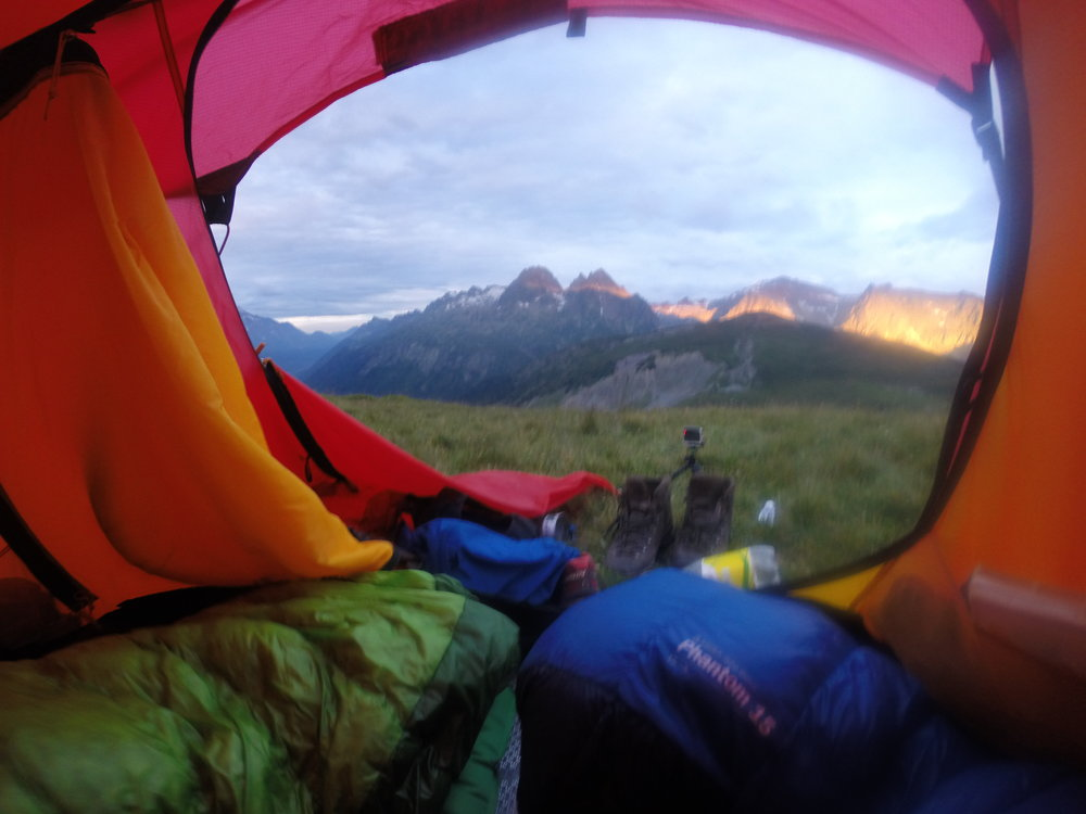 Cheaky mid-week bivvy spot, sunrise