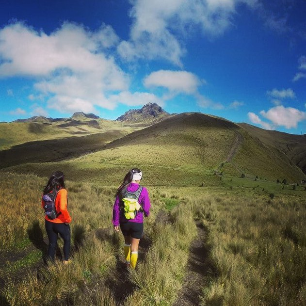 taking it easy at 4400 meters, walking towards Rucu Pichincha, the closest volcano to Quito 🌋 🏃🏽♂⠀ .⠀ .⠀ .⠀ .⠀ #running #trailrunning #trailrunningviews #outdoors #trailrunningmag #landscape #outdoors #thegreatoutdoors #adventure #trailrunner #mountains #ecuador #travel #trailrun #rucupichincha #friends