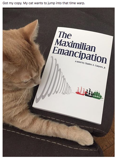 Animals just can't get enough of The Maximilian Emancipation