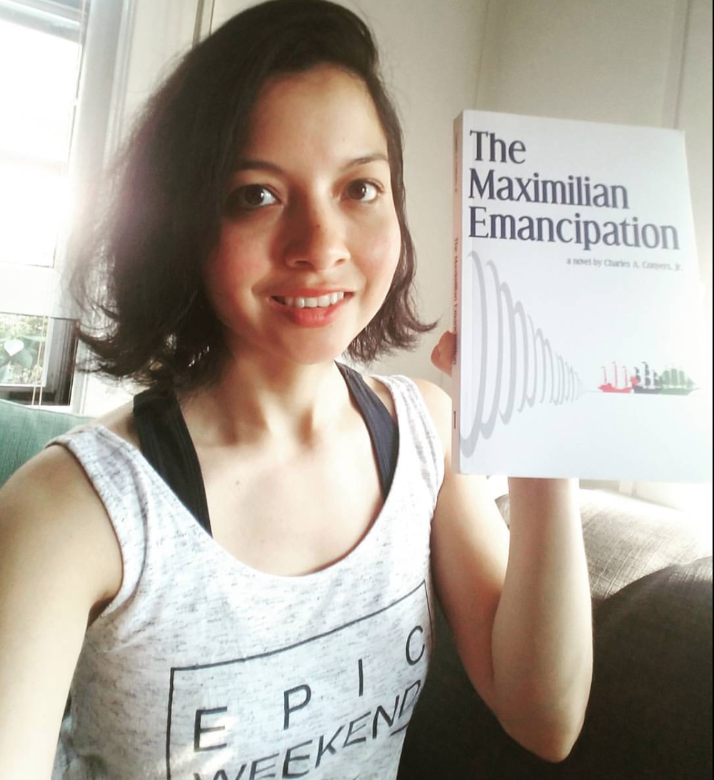 Dubi got her copy of The Maximilian Emancipation