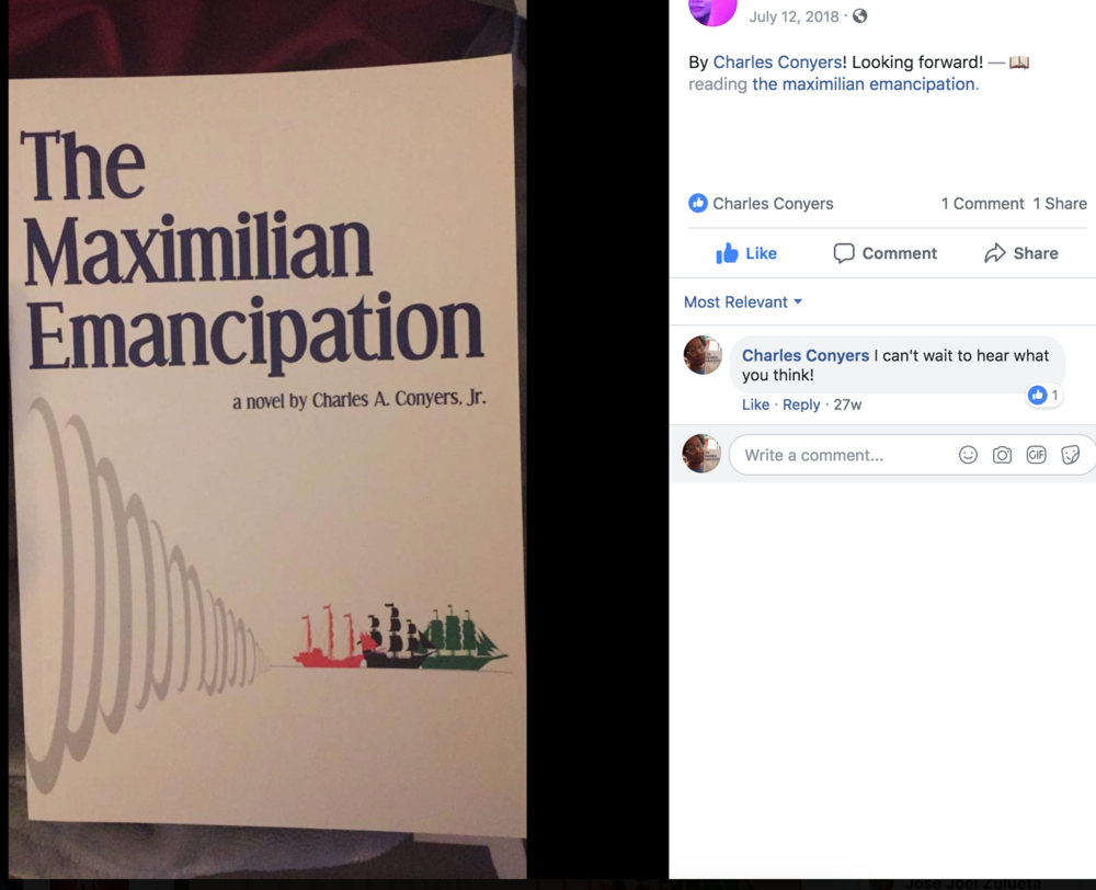 The Maximilian Emancipation gets another buyer!