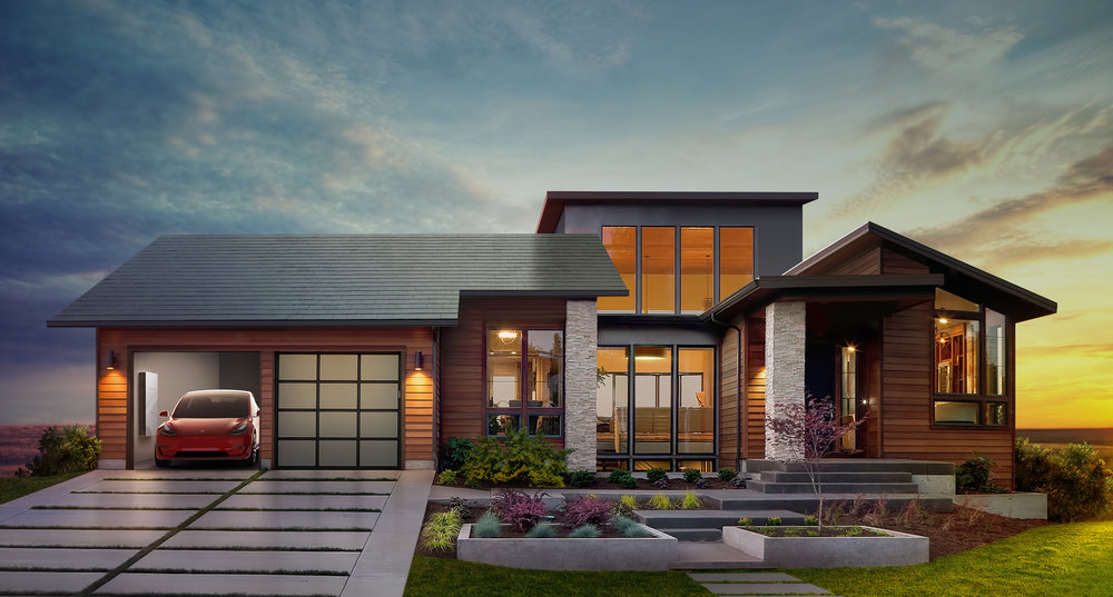 Tesla Solar Roof. Photo Credit: FORBES