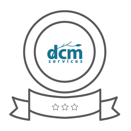 Awards icon representing DCMS' dedication to performance and partnership.