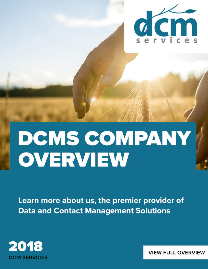 DCMS Company Overivew - In this overview learn how DCM Services enables client success through a consultative approach and innovative solutions