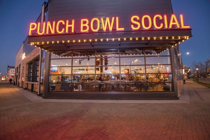 Punch Bowl Social - Photo courtesy of Wedding Wire