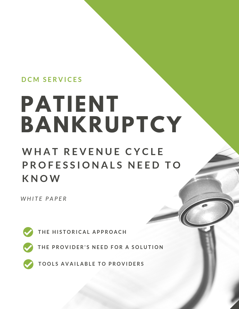 Patient Bankruptcy - What Revenue Cycle Professionals Need to knowDownload now →