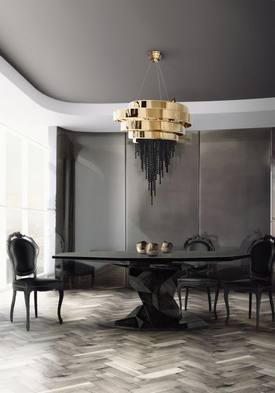 LUX BLACK DIAMOND TABLE