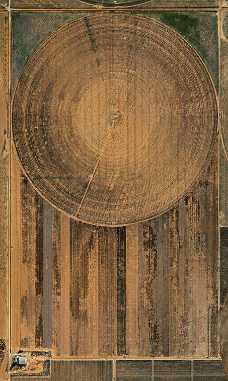 Pivot Irrigation #2  High Plains, Texas Panhandle, USA, 2011