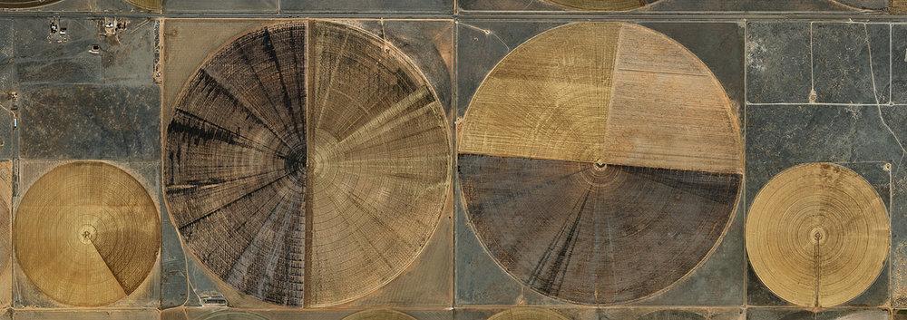 Pivot Irrigation #7  High Plains, Texas Panhandle, USA, 2011