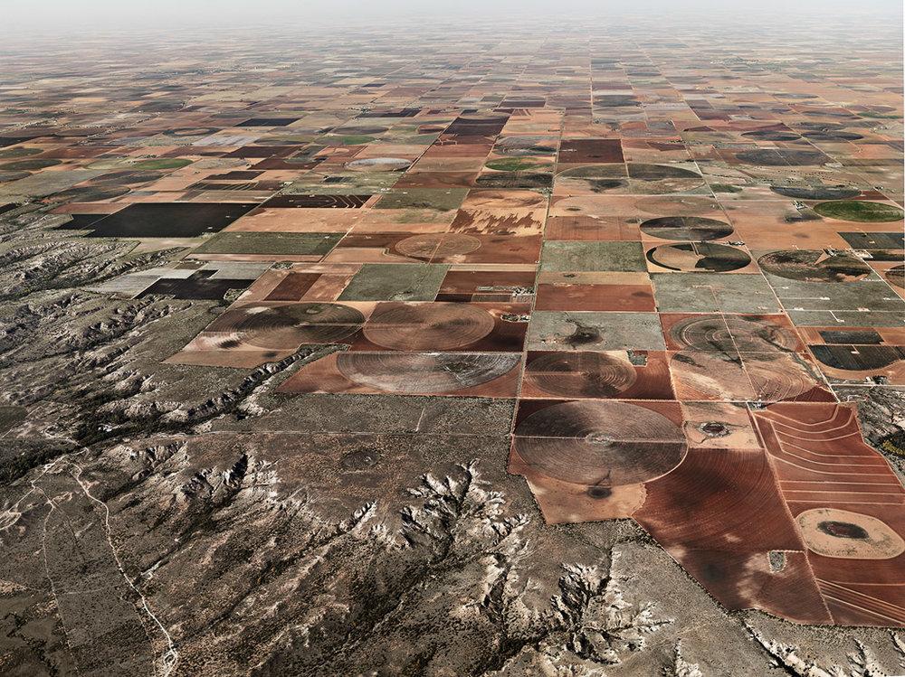 Pivot Irrigation #11  High Plains, Texas Panhandle, USA, 2011