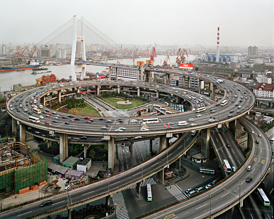 Nanpu Bridge Interchange  Shanghai, China, 2004