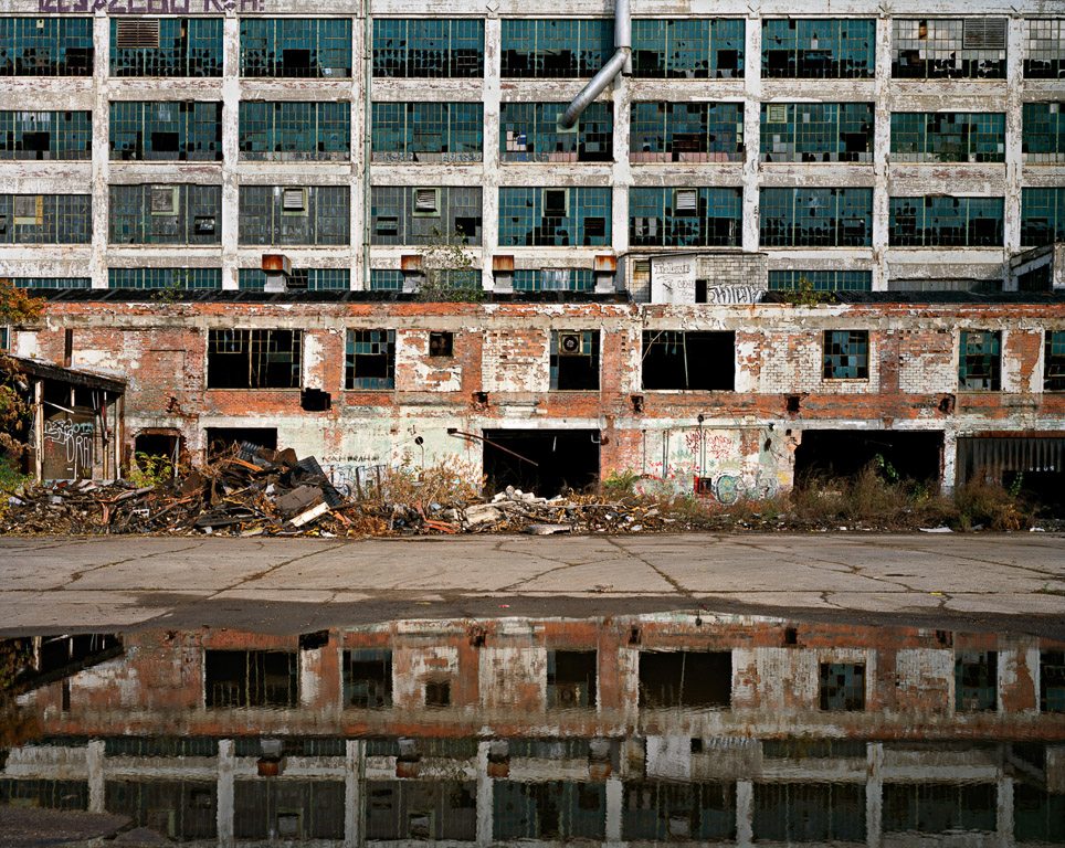 Fisher Body Plant #1  Detroit, Michigan, USA, 2008
