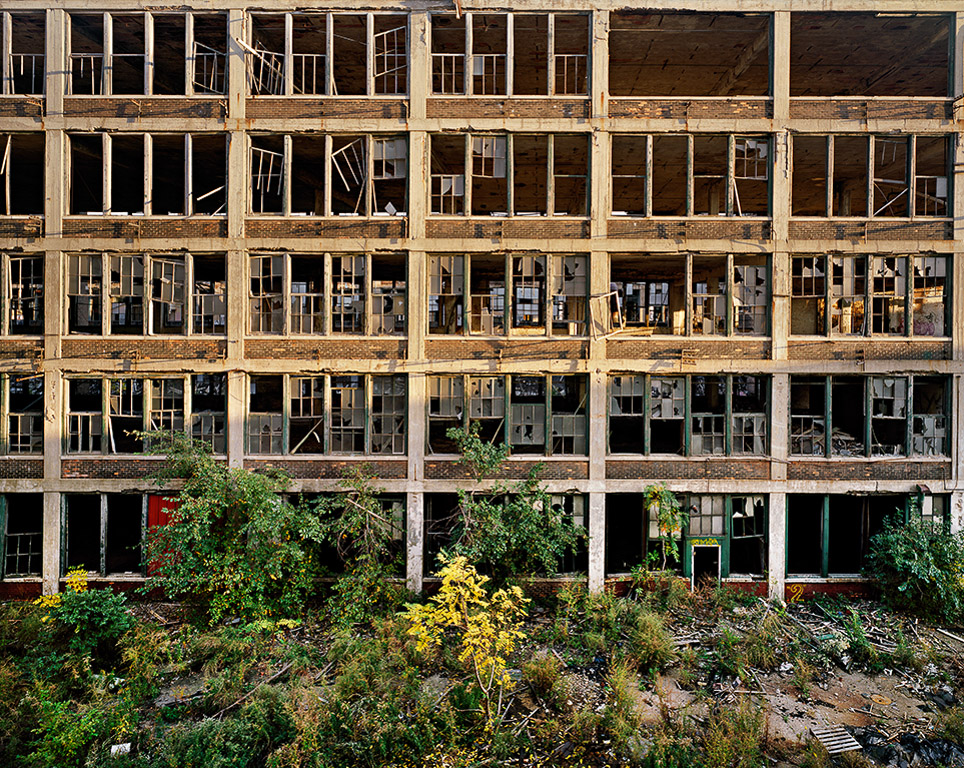 Packard Plant #2  Detroit, Michigan, USA, 2008