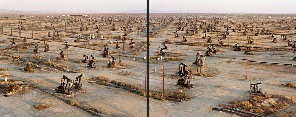 Oil Fields #19ab  Belridge, California, USA, 2003