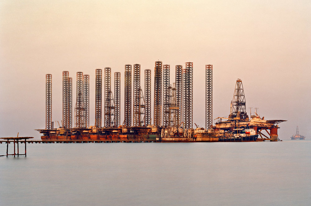 SOCAR Oil Fields #6  Baku, Azerbaijan, 2006