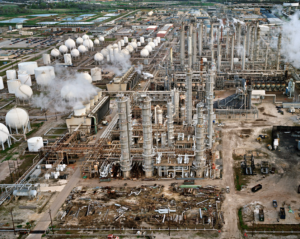 Oil Refineries #34  Houston, Texas, USA, 2004