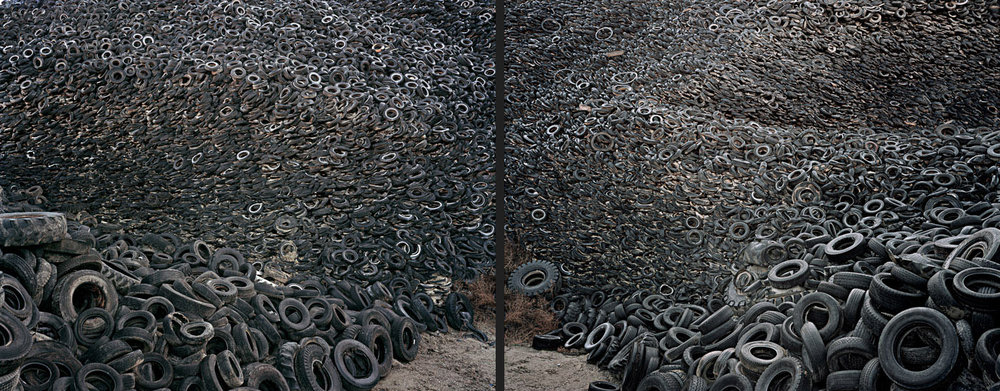 Oxford Tire Pile #9ab  Westley, California, USA, 1999