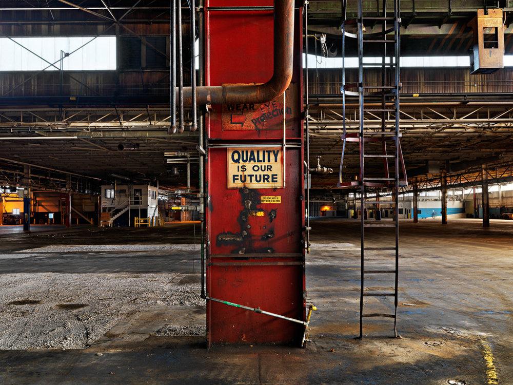 Dana Frame Plant #1  Thorold, Ontario, Canada, 2010