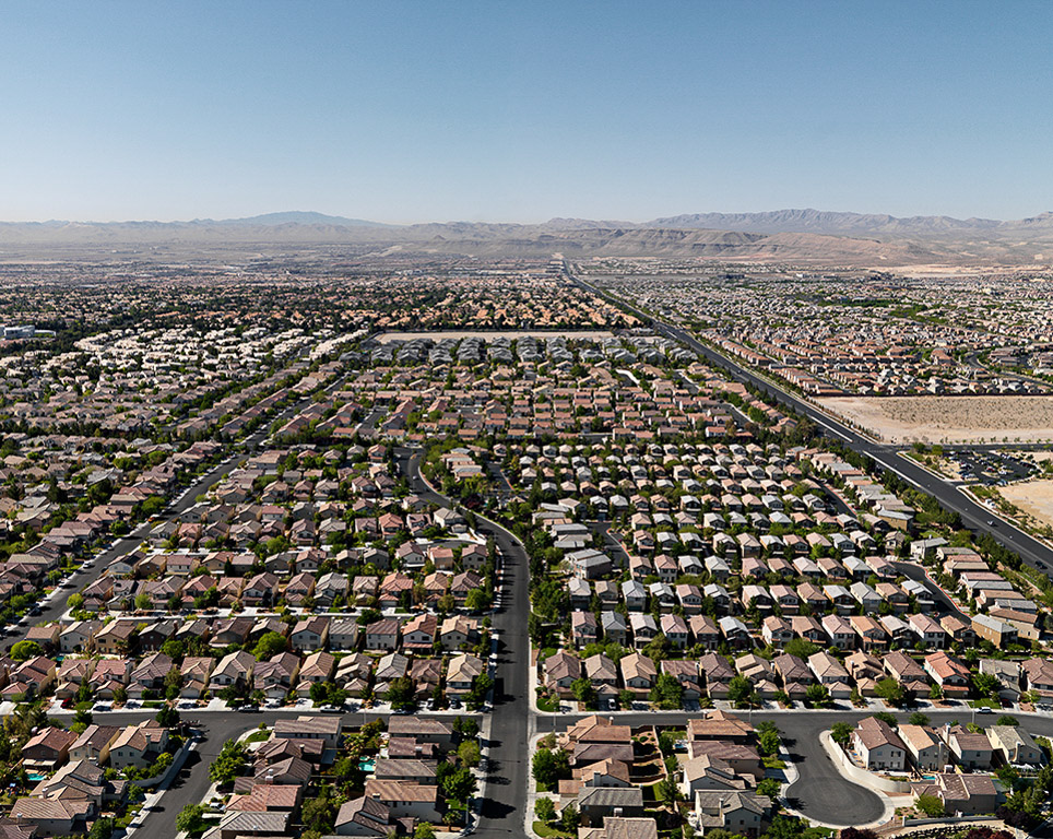 Suburbs #1  North Las Vegas, Nevada, USA, 2007