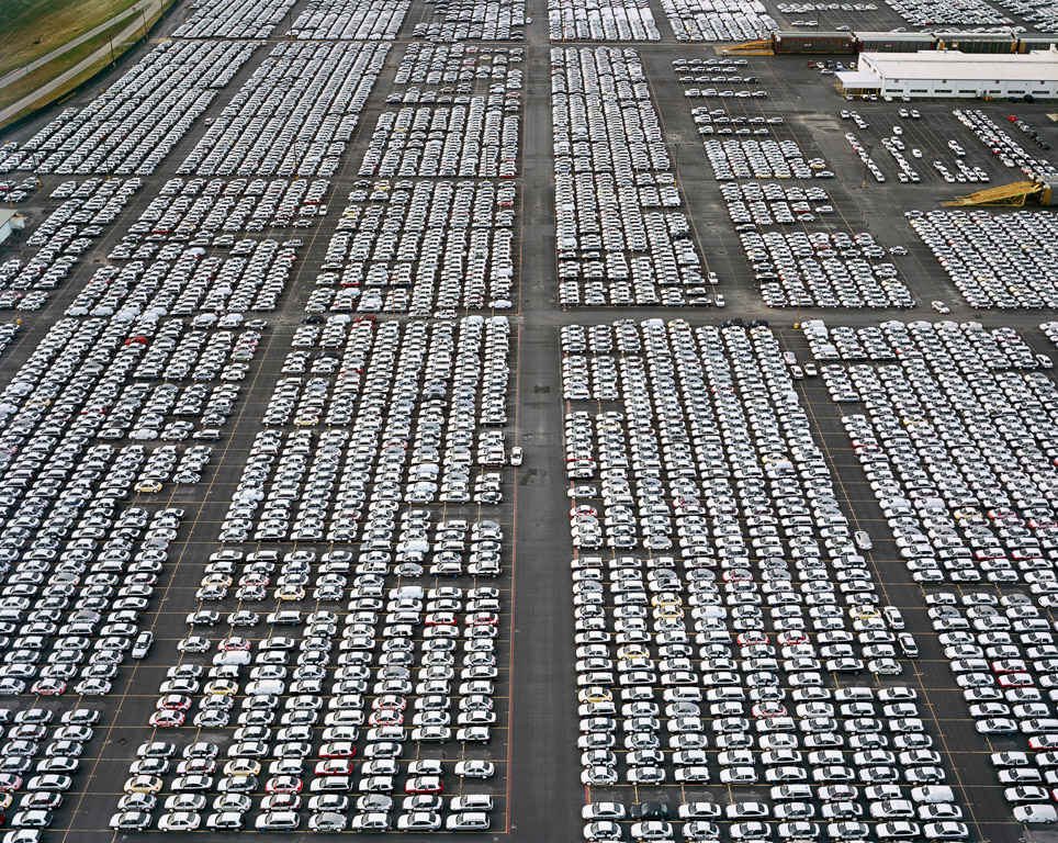 VW Lot #1  Houston, Texas, USA, 2004