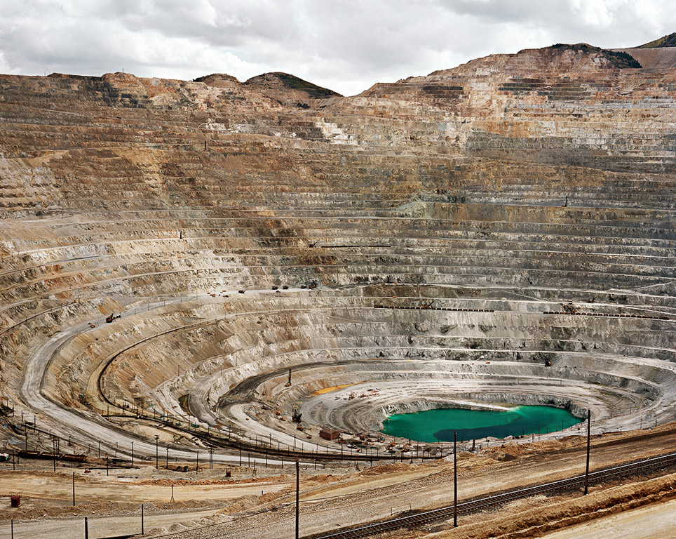Mines #22  Kennecott Copper Mine, Bingham Valley, Utah 1983