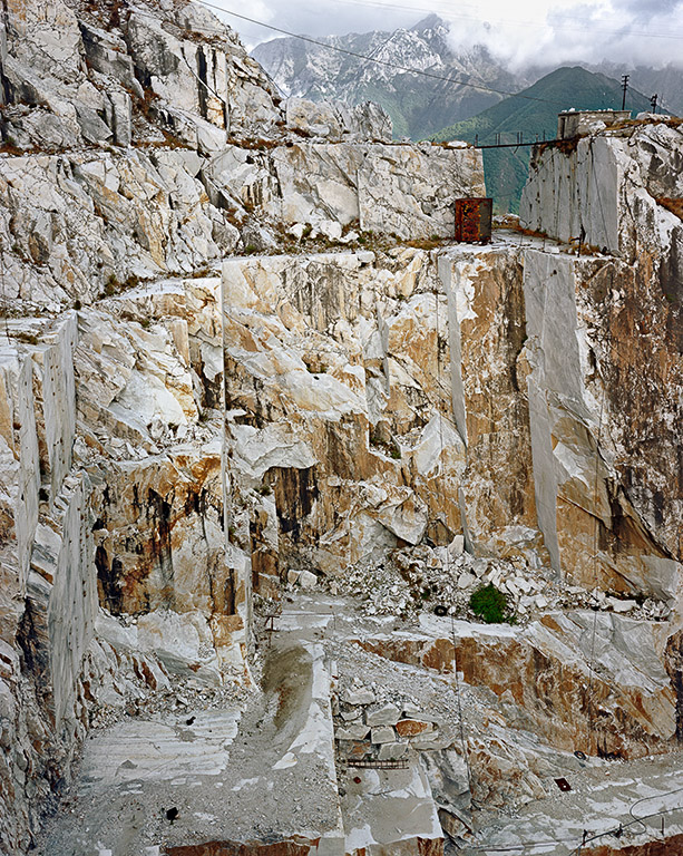 Marble Quarries #001  Carrara, Italy, 1993
