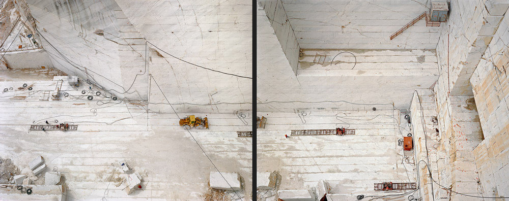 Carrara Marble Quarries # 24 & 25  Carrara, Italy, 1993