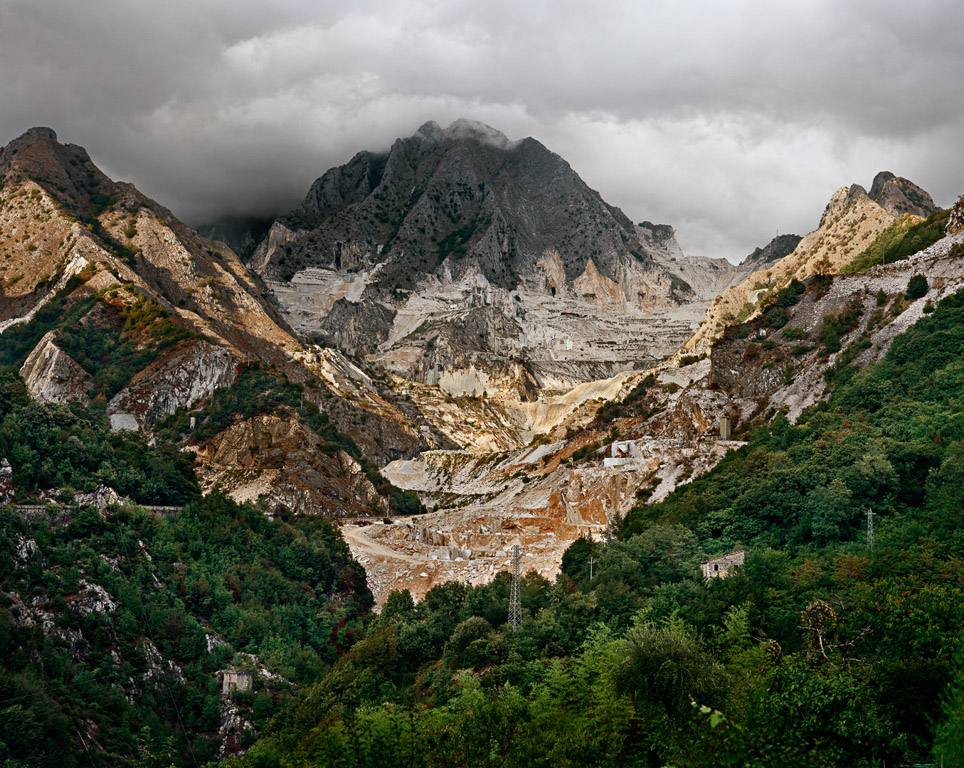 Carrara Marble Quarries #20  Carrara, Italy, 1993