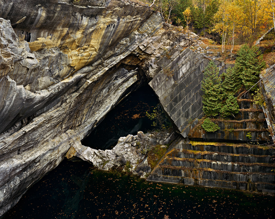 Marble Quarries #001  Rultand, Vermont, 1991