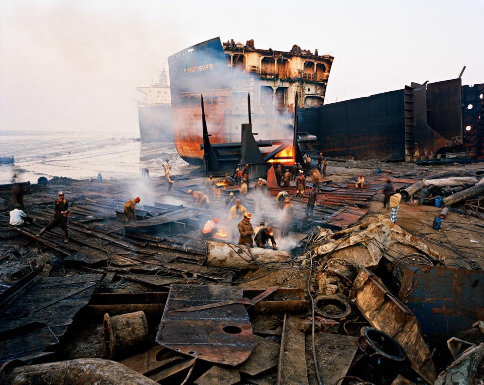 Shipbreaking #11  Chittagong, Bangladesh 2000