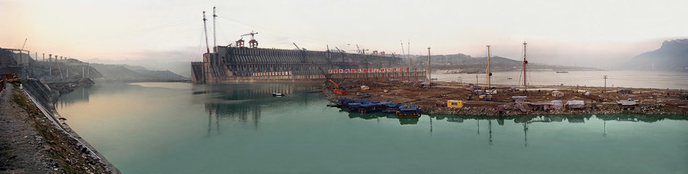 Dam #2  Three Gorges Dam Project, Yangtze River, China, 2002