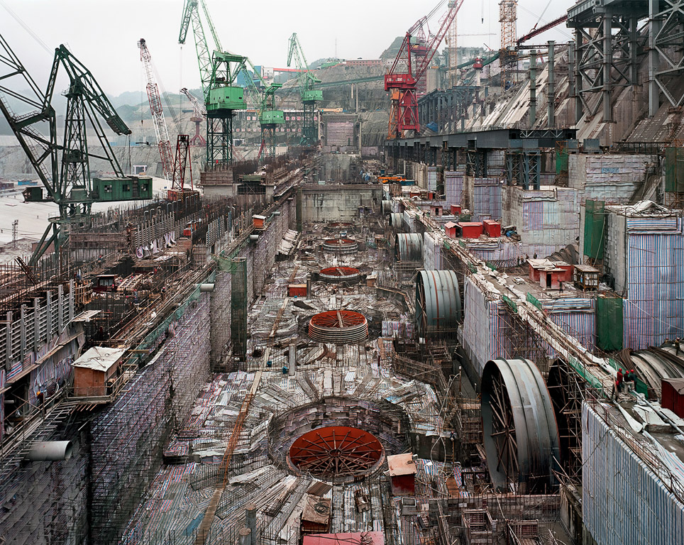 Dam #6  Three Gorges Dam Project, Yangtze River, China, 2005